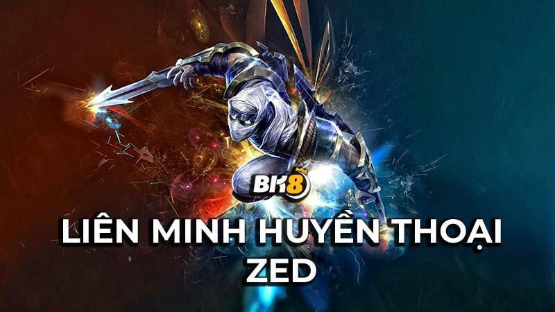 Liên Minh Huyền Thoại Zed là ai? Tạo hình, kỹ năng và bảng ngọc chi tiết